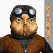Owl Man 3d model