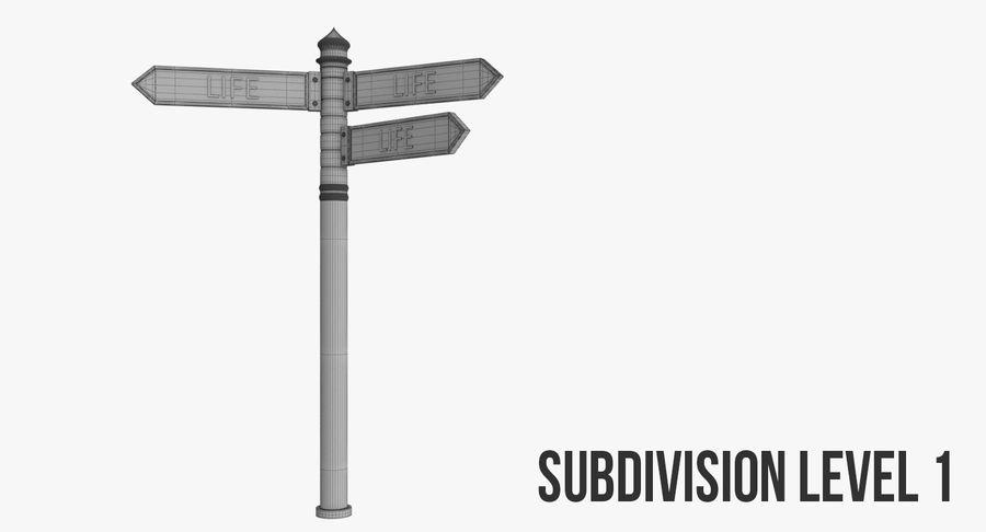Tecken royalty-free 3d model - Preview no. 12