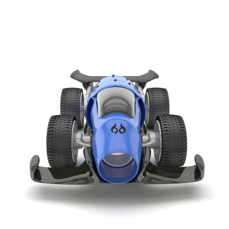 未来赛车 royalty-free 3d model - Preview no. 5