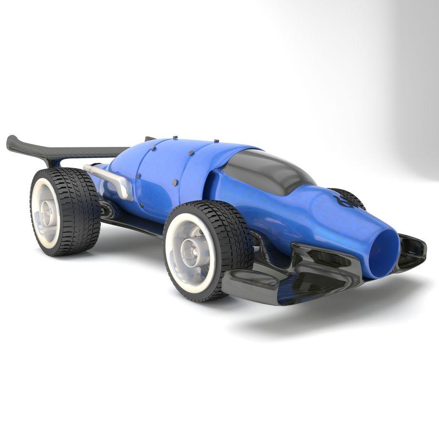 未来赛车 royalty-free 3d model - Preview no. 2