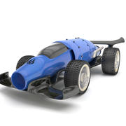 FUTURISTIC RACE CAR 3d model