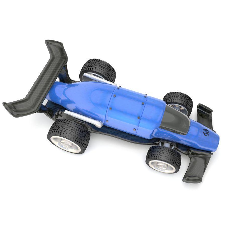 未来赛车 royalty-free 3d model - Preview no. 3