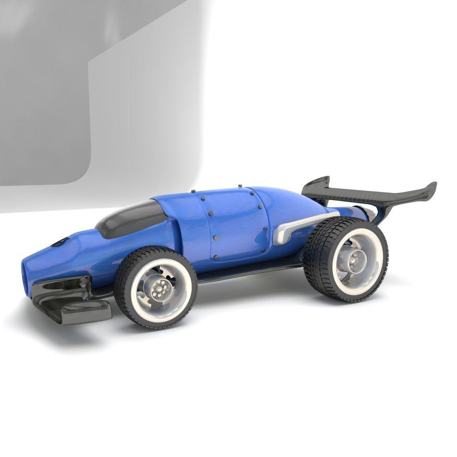 未来赛车 royalty-free 3d model - Preview no. 4