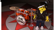 Lego Drum Vrouw 3d model