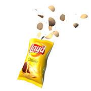 Matrix Chips bag 3d model