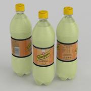 Beverage Bottle Schweppes Citrus Mix 1L 3d model