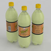 Beverage Bottle Schweppes Citrus Mix 1L 3d model