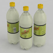 Beverage Bottle Schweppes Lemon 1L 3d model