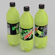Beverage Bottle Mountain Dew 1L 3d model