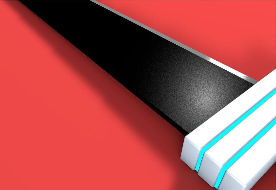 CLOUD SWORD royalty-free 3d model - Preview no. 3