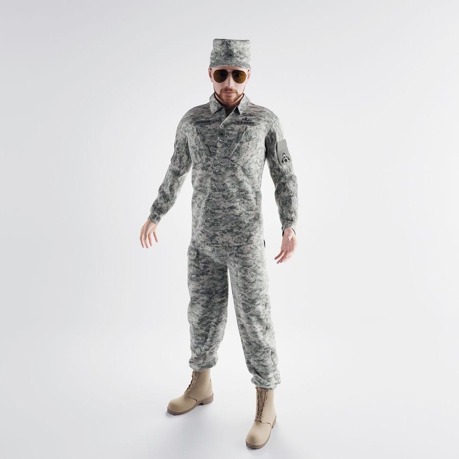 ABD askeri royalty-free 3d model - Preview no. 2