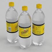 Beverage Bottle Schweppes Tonic 1L 3d model