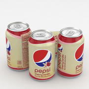 Beverage Can Pepsi Cherry Vanilla 330ml 3d model