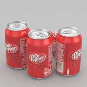 Dricka kan Dr Pepper 330ml 3d model