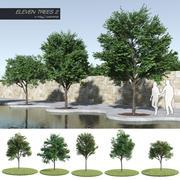 열한 나무 2 (+ Growfx) 3d model