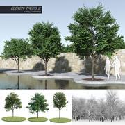 Undici alberi 2 (+ Growfx) 3d model