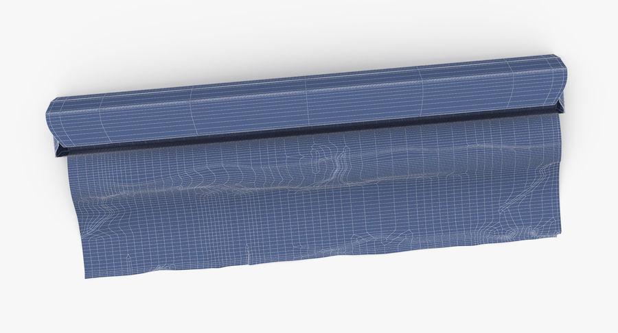 Aluminium Foil Box Open royalty-free 3d model - Preview no. 16
