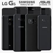 2017 Top Smartphones 3d model