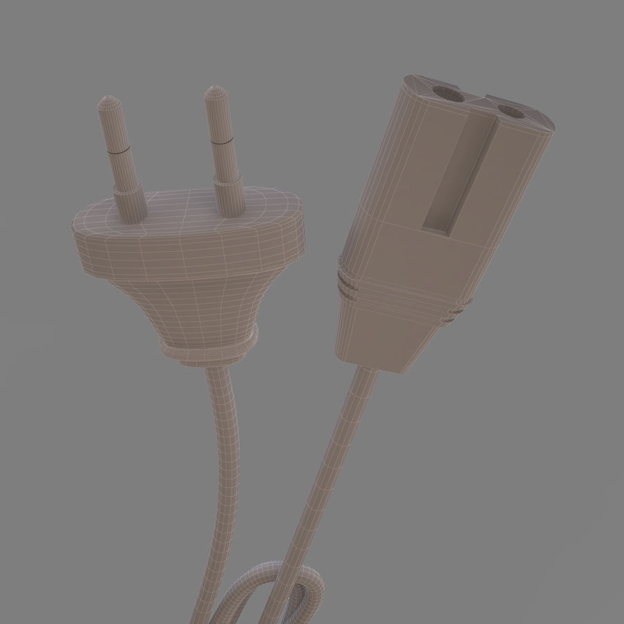 CANON BATTERY CHARGER royalty-free 3d model - Preview no. 12