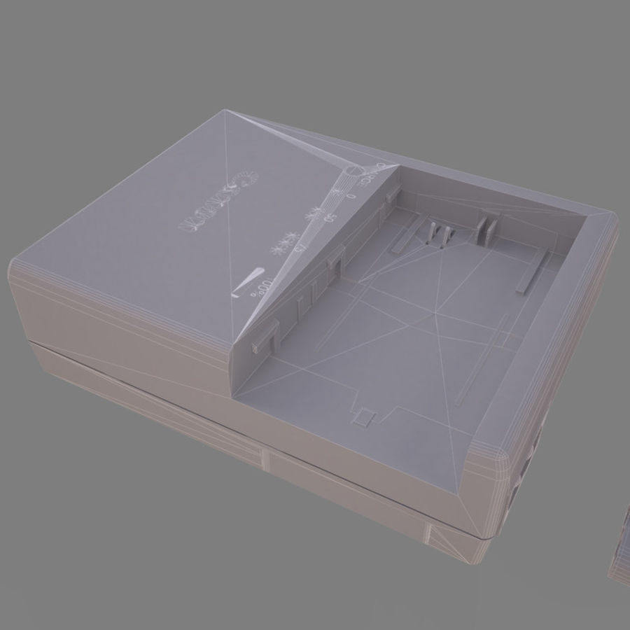 CANON BATTERY CHARGER royalty-free 3d model - Preview no. 13
