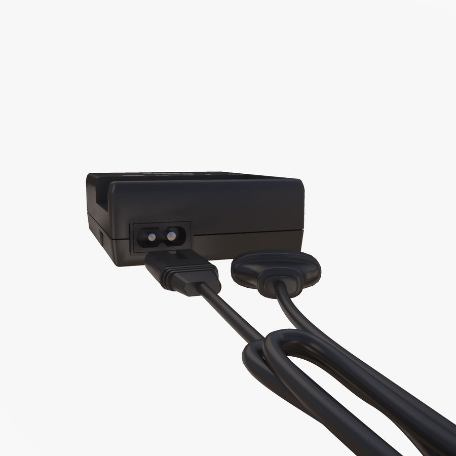 CANON BATTERY CHARGER royalty-free 3d model - Preview no. 7