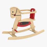 Shetland Rocking Horse 3d model