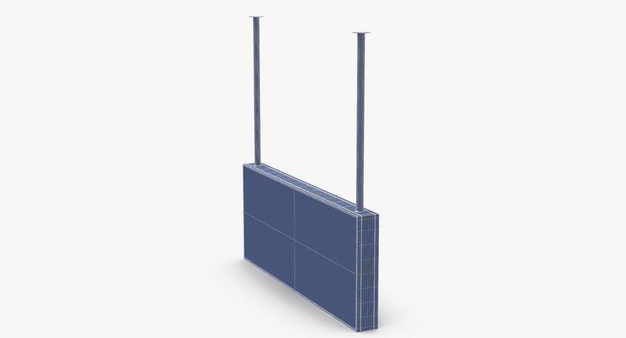 공항 도착 사인 royalty-free 3d model - Preview no. 11