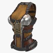 여자 갑옷 V3 3d model