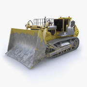 Escavadora Komatsu d575a 3d model