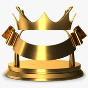 Trophy 4 Crown 3d model