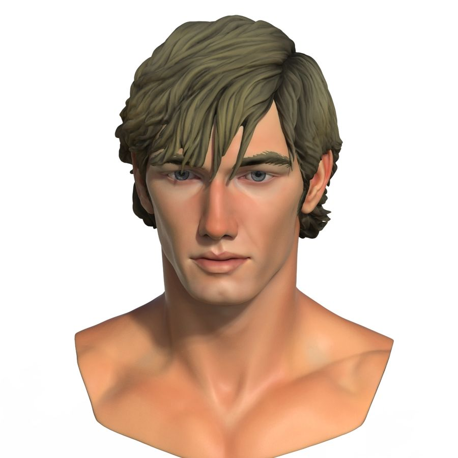 Alex Pettyfer Textured royalty-free 3d model - Preview no. 14