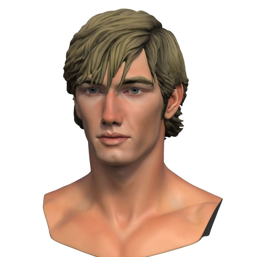 Alex Pettyfer Textured royalty-free 3d model - Preview no. 13