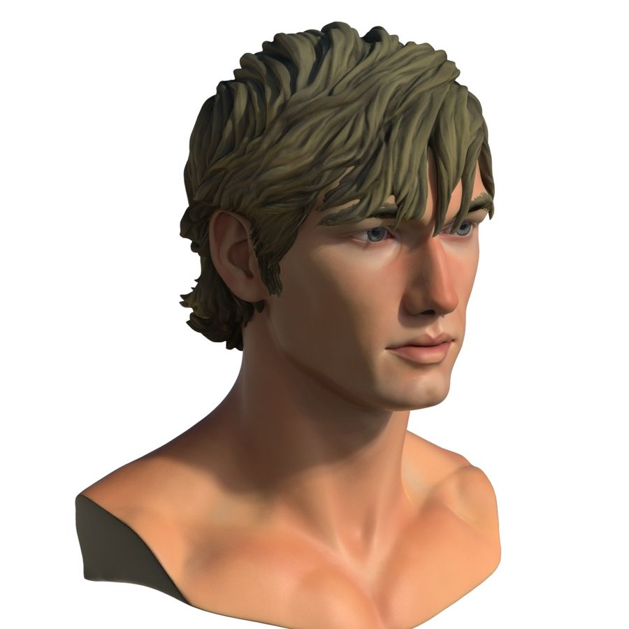 Alex Pettyfer Textured royalty-free 3d model - Preview no. 8