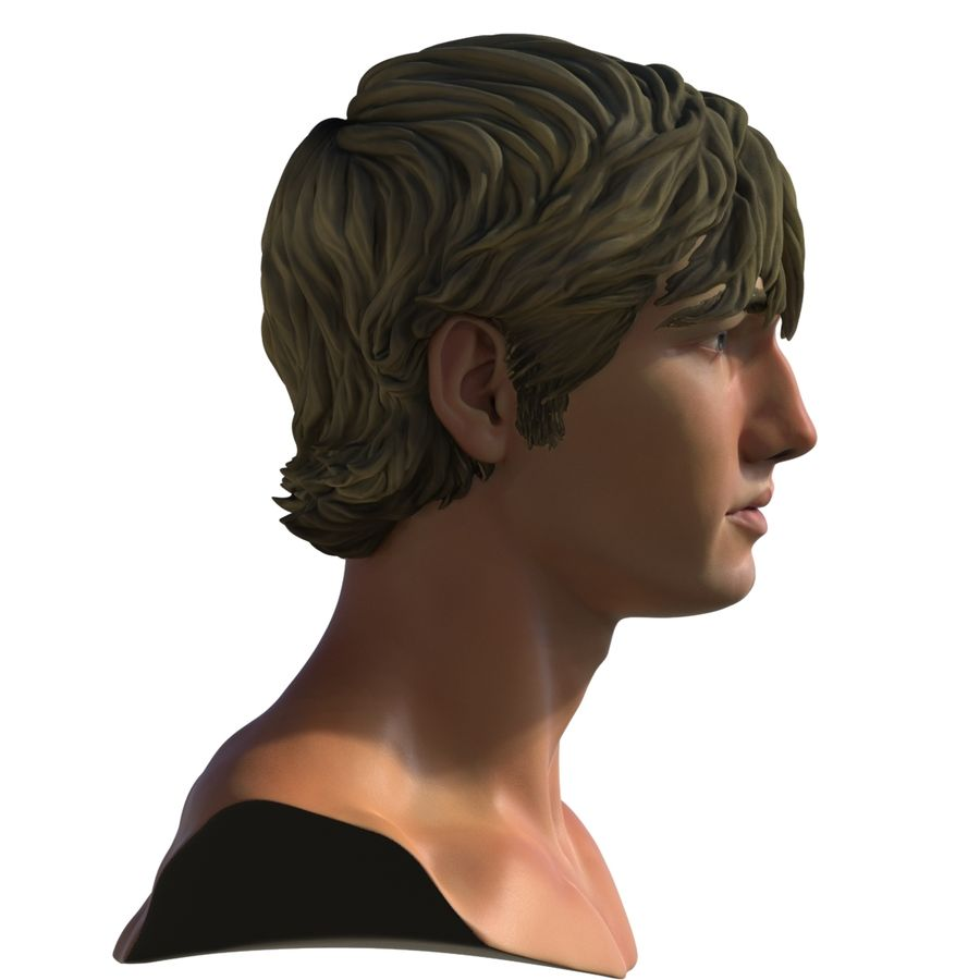 Alex Pettyfer Textured royalty-free 3d model - Preview no. 9