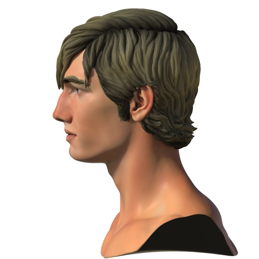 Alex Pettyfer Textured royalty-free 3d model - Preview no. 11