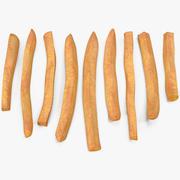 Batatas fritas 3d model