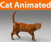 kot animowany 3d model