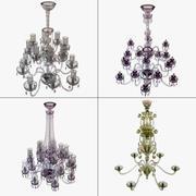 Conjunto de candelabro 3d model