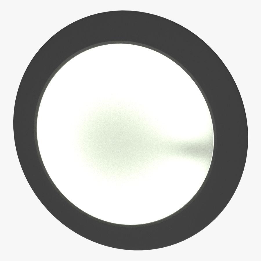 Fluoreszierende Deckenleuchte royalty-free 3d model - Preview no. 4
