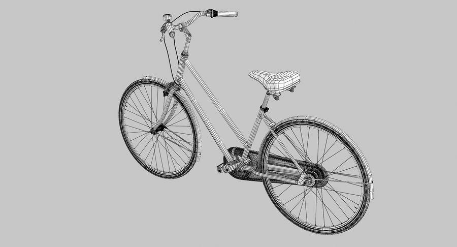 Lady Bike royalty-free 3d model - Preview no. 8