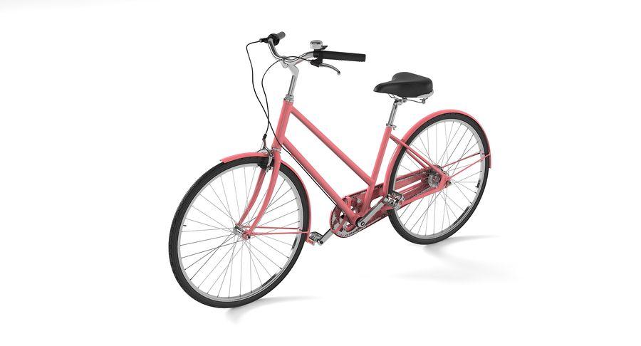 Lady Bike royalty-free 3d model - Preview no. 4