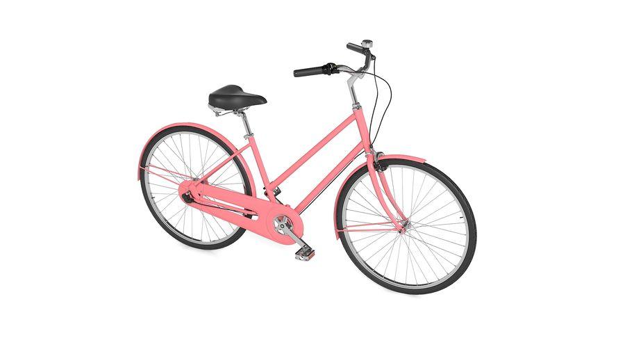 Lady Bike royalty-free 3d model - Preview no. 2