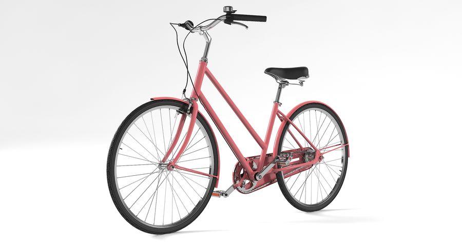 Lady Bike royalty-free 3d model - Preview no. 5