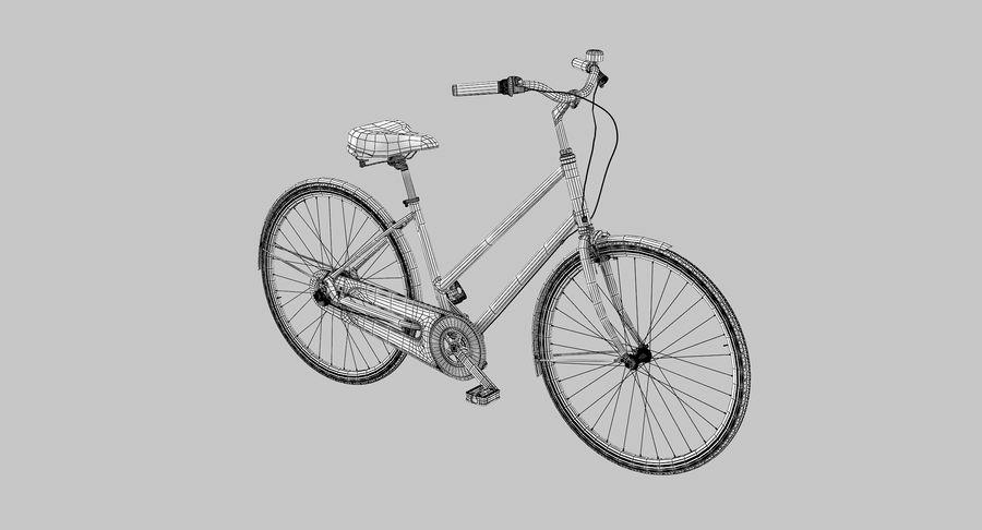 Lady Bike royalty-free 3d model - Preview no. 7