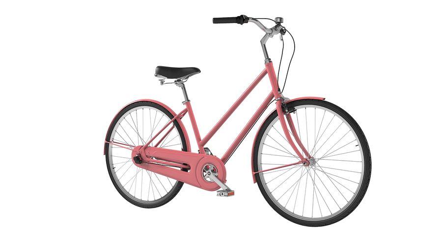 Lady Bike royalty-free 3d model - Preview no. 3