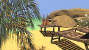 Morska plaża 3d model