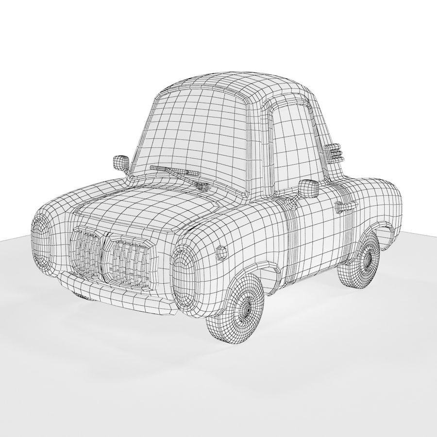 Cartoon samochód z kierowcą royalty-free 3d model - Preview no. 20
