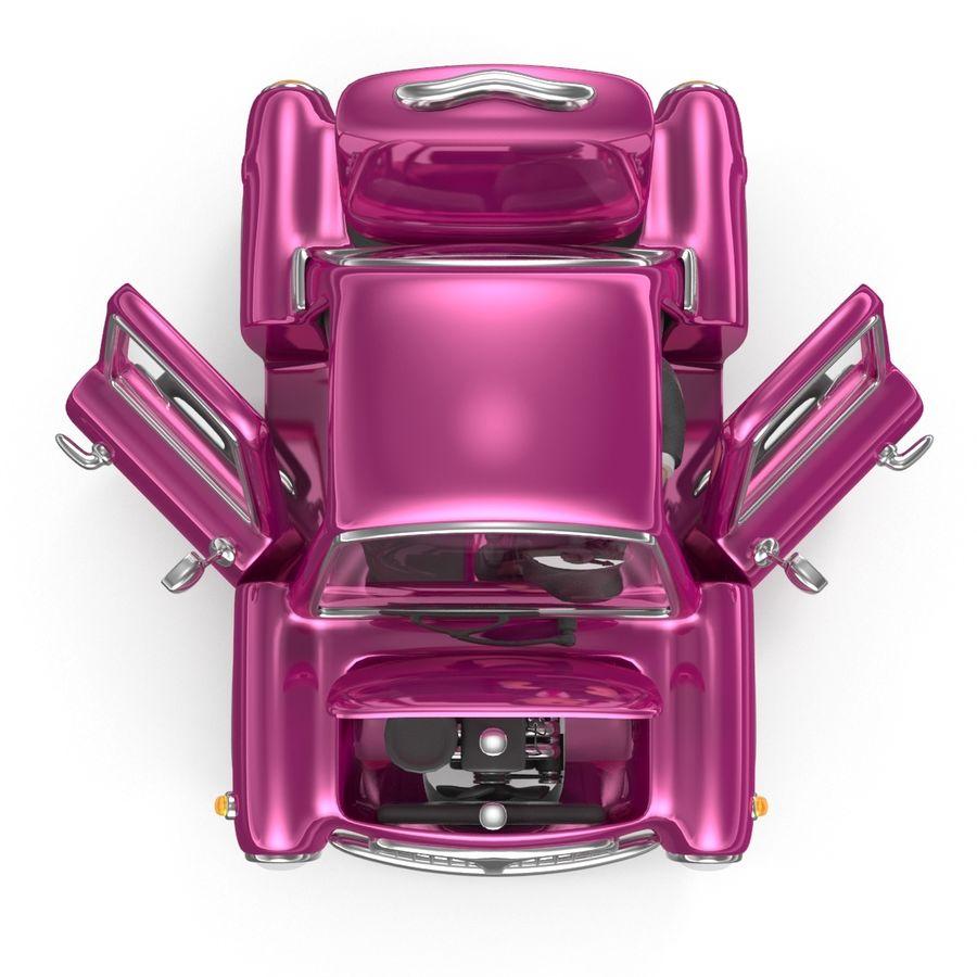 Cartoon samochód z kierowcą royalty-free 3d model - Preview no. 10
