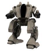 Battle mech Wanderer 3d model