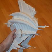 Babylon 5 Minbari Sharlin warship 3d model